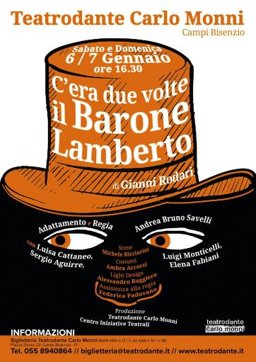 """There was twice the Baron Lamberto"""