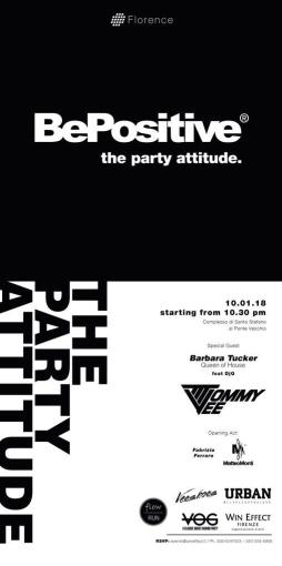 BE POSITIVE - THE PARTY ATTITUDE