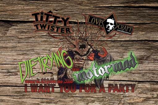 Love Twister Night - Dietrying and Motormad live