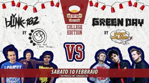★ RedCupParty ★ Blink 182 VS Green Day