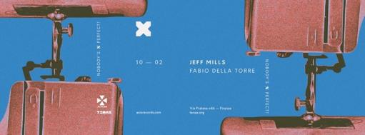 Nobody's Perfect! Jeff Mills, Fabio Della Torre