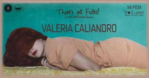 That's all Folks! w/ Valeria Caliandro