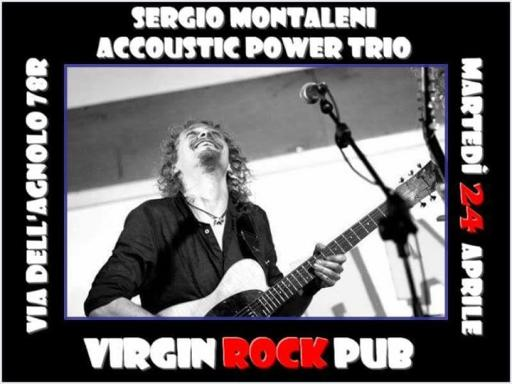 Sergio Montaleni In POWER TRIO!