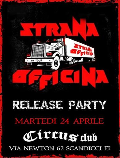 Strana Officina release party