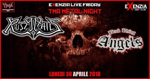 TMA METAL NIGHT : Rusty Nails // Black Rising Angels + guest