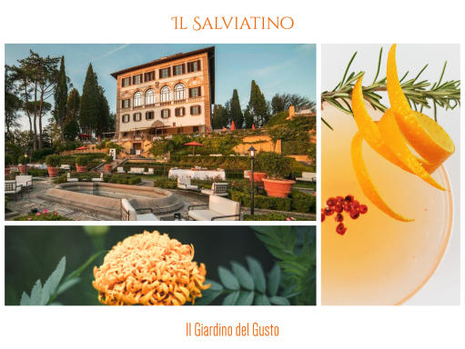 Il Giardino del Gusto and four-handed dinner at Il Salviatino