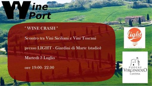 WINE CRASH - Sicilia VS Toscana