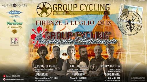 Group Cycling® At Piazzale Michelangelo - Florence 2018