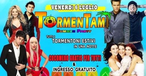 Tormentami Party - All Summer Tormentoni in one Night