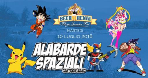 Space Alabarde at Beerrrenai Music Summer Fest 2018