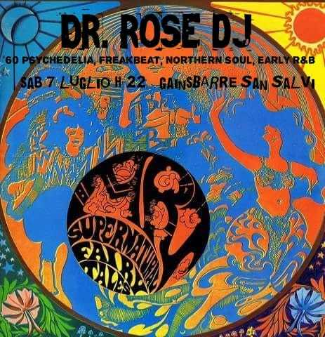 DR. ROSE DJ ☆ gainsBARre