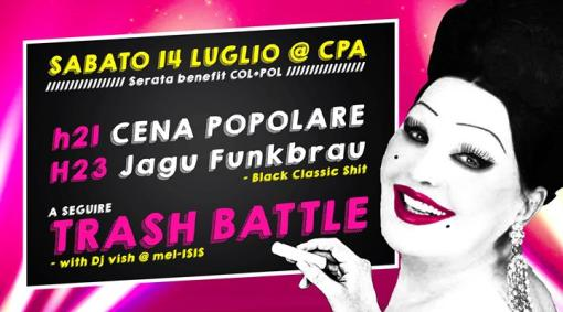 TRASH NIGHT all'aperto