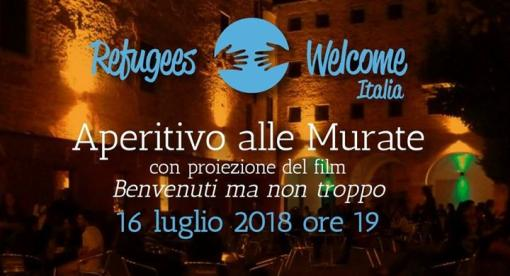 Aperitivo con Refugees Welcome Italia