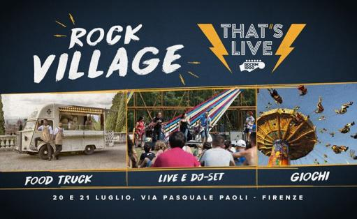 Rockin'1000 Village: Street Food, Live Music and more