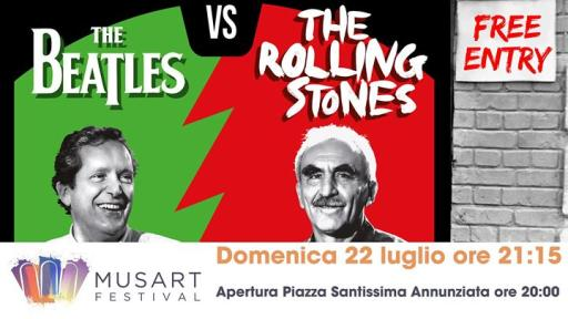 Lezioni di Rock - The Beatles vs The Rolling Stones
