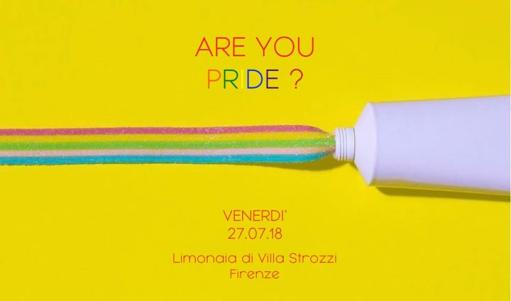 Are you Pride? Limonaia Villa Strozzi Firenze dj set T Strulle