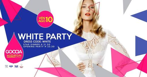 GOCCIA presenta ★ WHITE PARTY ★