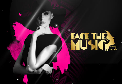 "DINNER WITH SPECTACLE AND DISC - ""FACE THE MUSIC"""