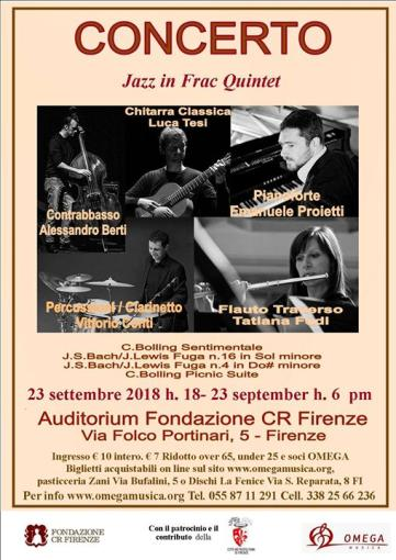 Jazz in frac quintet