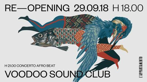 Re - opening The apartment - Voodoo Sound Club