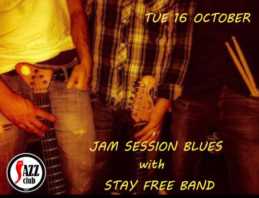 JAM SESSION BLUES with STAY FREE BAND