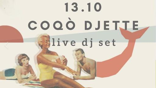 Coqò Djette Dj Set at the Tasso Hostel