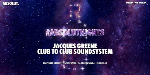 #AbsolutNights arriva a Firenze