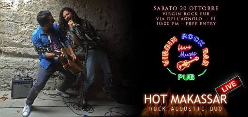 HARD ROCK NIGHT with HOT MAKASSAR live!