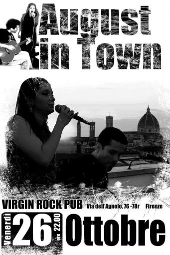 POP / ROCK NIGHT WITH AUGUST IN TOWN LIVE!