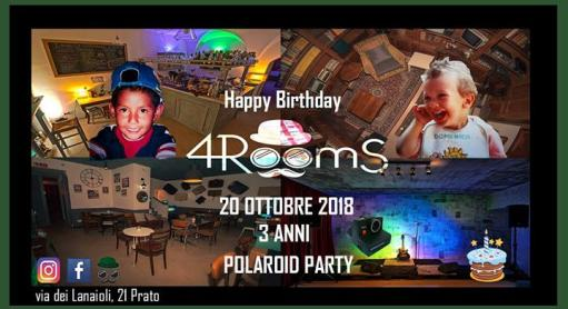 3 years 4RoomS Polaroid Party
