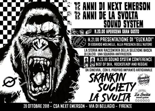 12 years of Next Emerson, 12 years of La Svolta sound system