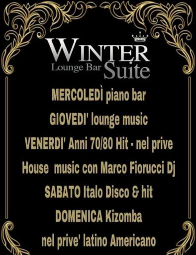 Winter Suite Lounge bar