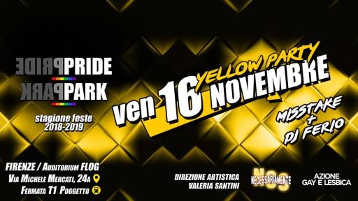 Yellow Party NCSPridePark