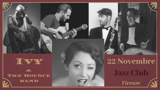 Ivy & The Bounce band at JAZZ CLUB