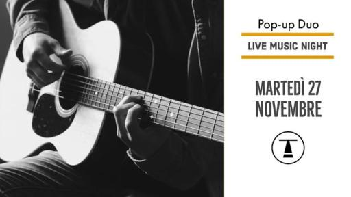 Live Music Night - Pop-up Duo