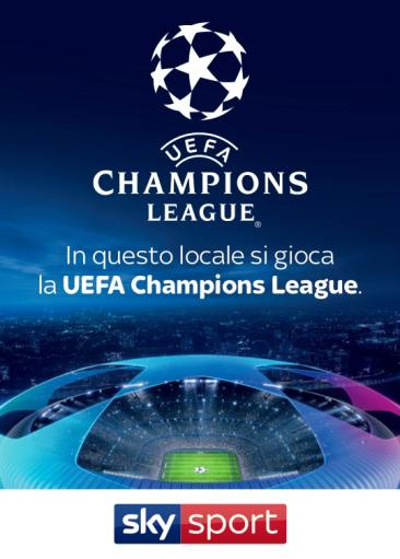 CHAMPIONS LEAGUE at the TREND at 21.00