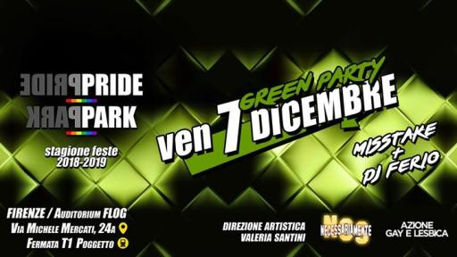 GreenParty @ FlogNCSPridePark