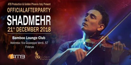 Shadmehr Official After Party Florence