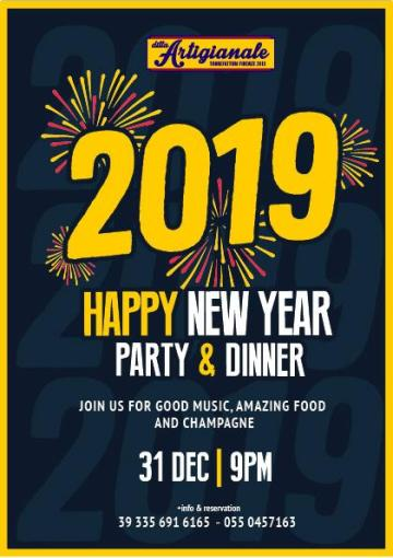 New Year's Eve in the heart of the Oltrarno