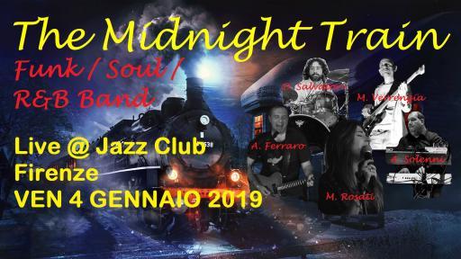 The Midnight Train live at Jazz Club – Firenze