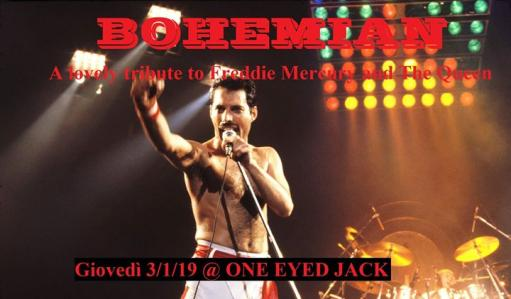 Bohemian - A lovely tribute to Freddie Mercury and the Queen