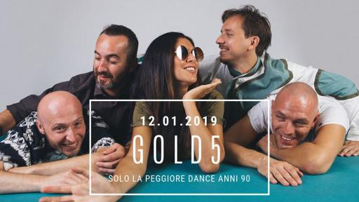 GOLD5 Party Anni '90 Jazz Club, Firenze
