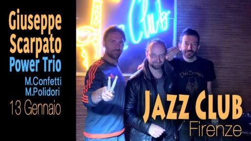 Giuseppe Scarpato Power trio - Jazz club