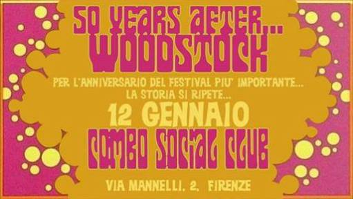 Tara Degl'Innocenti and Iacopo Meille - Woodstock 50 Years After