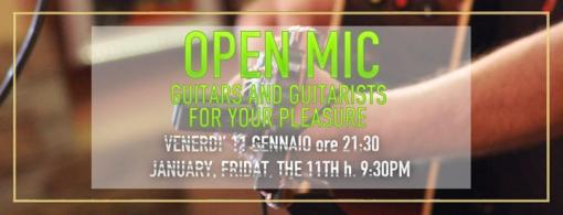 Open Mic on Friday