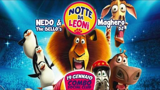 NIGHT by LEONI - I Like to Move it / Nedo & TheBello's + MagheroDJ