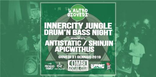 L'AltroGiovedì @Combo: Drum'n'BassNight by InnercityJungle