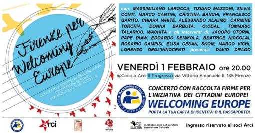 Firenze per Welcoming Europe: concerto + apericena!
