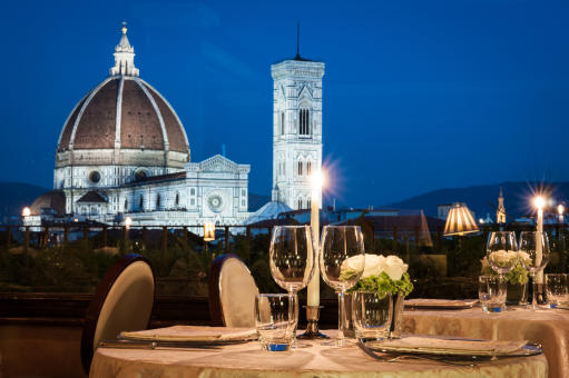 Valentine's Day with a view of Florence