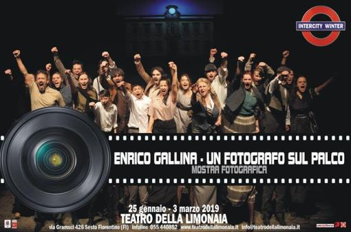 Enrico Gallina - A photographer on stage
